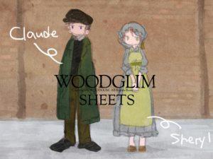 [RJ246332] (WOODGLIM) SHEETS