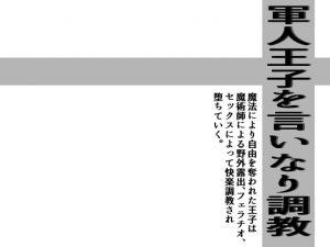 [RJ282147] (灼熱の砲撃) 軍人王子を言いなり調教