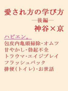 [RJ295301] (gooneone) 愛され方の学び方ー後編ー