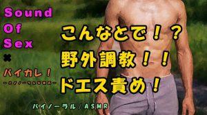 [RJ308083] (ヨルマガ!-ASMR Night Life Media-) バイカレ!×ノンフィクションSEXボイス!実録!山や川や公園でガチムチドSに調教生ハメ!!ASMR/バイノーラル/エロボイス/催眠音声/野外/実演/羞恥/癒し☆